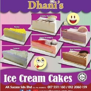 Dhani's Ice Cream Cake