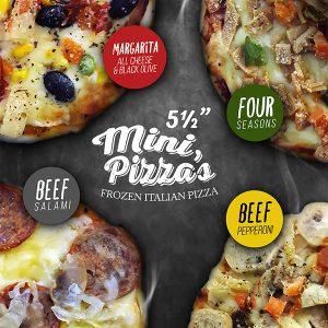 Mini Pizza – Frozen Italian Pizza